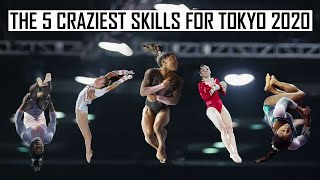 The 5 Craziest Skills for Tokyo 2020