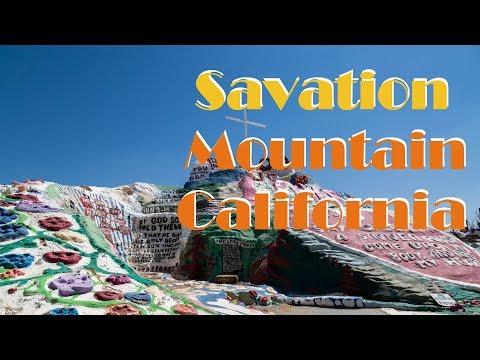 Abandoned Salton Sea in California to Salvation Mountain 2017 vlog
