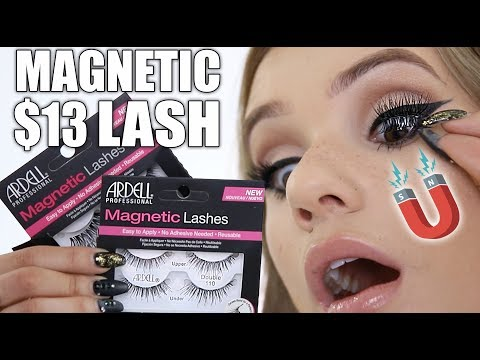 a589acb80d5 Trying MAGNETIC Drugstore Lashes (Magnetic Makeup Experiment)