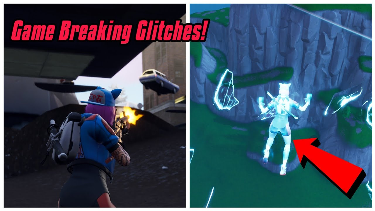 Top 5 Game Breaking Glitches In Season 7 After Update Fortnite Glitches Season 7 Ps4 Xbox One Youtube