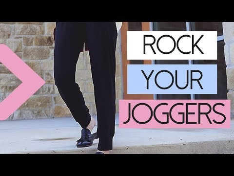 Three Ways To Wear Jogging Pants  Fashion Over 40