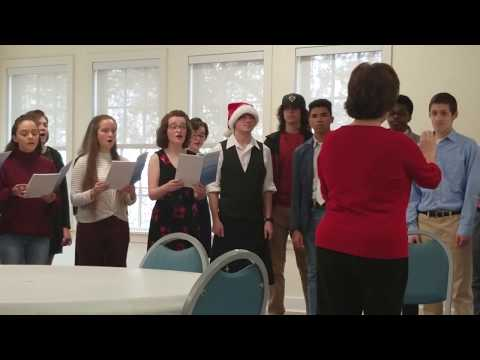 Our Madrigal Group singing the First Noel