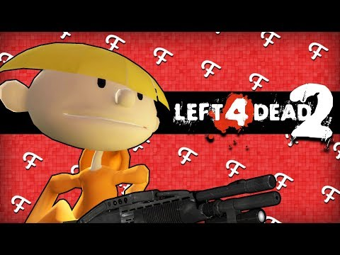 L4D2: Kids Next Door Operation D.R.A.G.O.N! (Left 4 Dead 2 - Comedy Gaming)