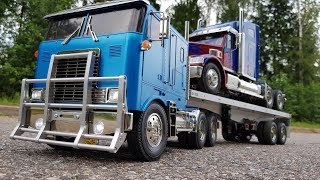 Тест-Драйв Грузовика На Радиоуправлении За 70 000р. / Tamiya Rc Truck Globe Liner