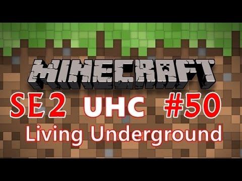 Minecraft UHC Living Underground SE2 EP50 - Redoing Pyramid Stairs