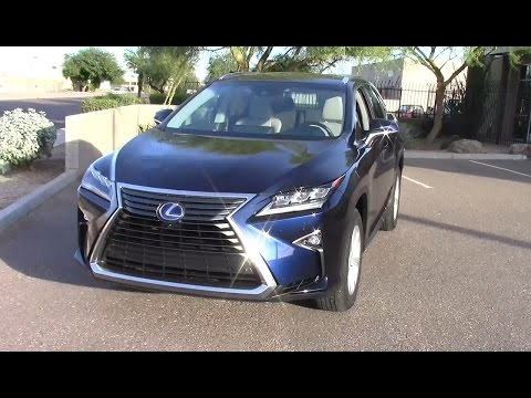 2016 Lexus Rx 450h Hybrid Suv Performance Fuel Economy Test