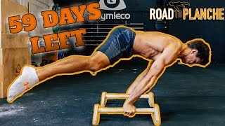 59 DAYS LEFT TO LEARN STRADDLE PLANCHE