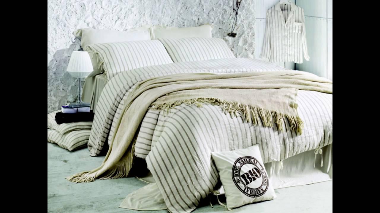 Лен ткань постельное белье - YouTube