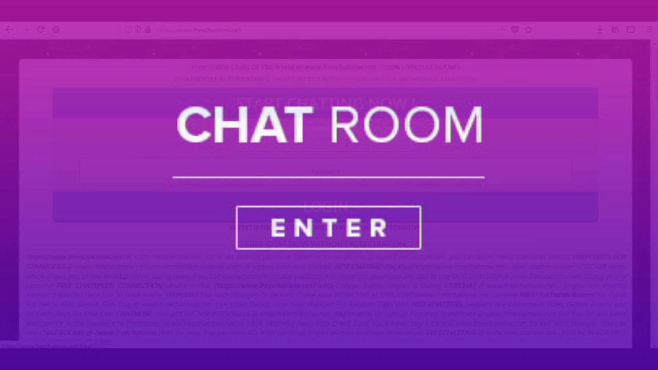 Chatting room