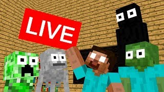 Monster Schools MINECRAFT LIVE !