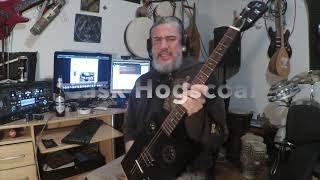 Cigar Box Guitars review: JN guitars cask hogscoal 4 string