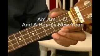 We Wish You A Merry Christmas How To Play On Ukulele Just Chords EASY Beginner
