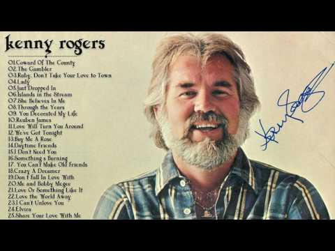 Kenny Rogers Greatest Hits | Best Songs Of Kenny Rogers