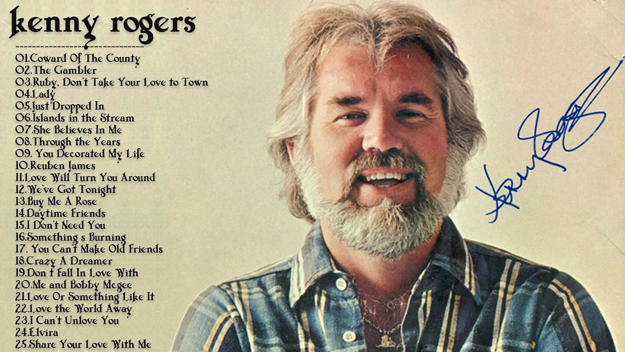 Kenny Rogers Greatest Hits | Best Songs Of Kenny Rogers - YouTube