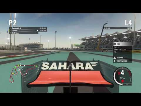 F1 2015 RaceStars League Abu Dhabi Race - Jemzoh