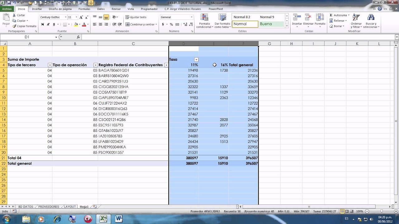 Diot Con Excel 2010 Parte 1avi
