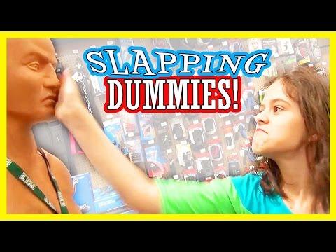 SLAPPING DUMMIES!! | KITTIESMAMA