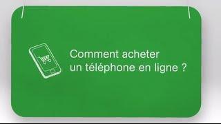 Tuto 8: Comment acheter un téléphone en ligne?