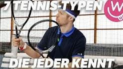7 Tennis-Typen, die jeder kennt | mit C-Bas