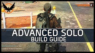 The Division 2  - The Solo Player Build Guide (Discussion)