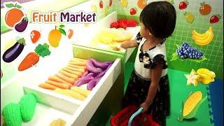 FRUIT MARKET & KITCHEN SET 💖 Mainan Anak Kasir Kasiran Masak Masakan 💖 Let's Play Jessica Jenica