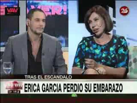 Amalia Granata le dijo menopáusica a Érica García