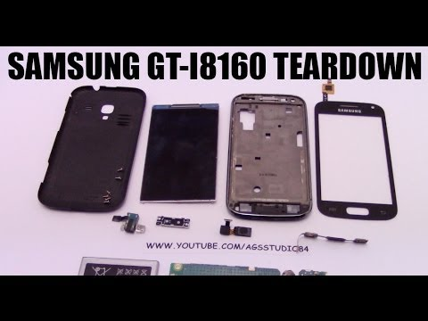 Samsung Galaxy Ace 2 Disassembly teardown GT-i8160  come smontare Samsung Galaxy ace 2 gt-i8160