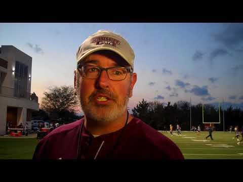 Joe Moorhead post practice 3-20-18