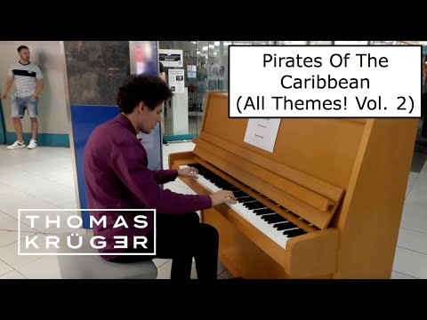 PIANO MEDLEY – Pirates Of The Caribbean (All Themes! Vol. 2) – THOMAS KRÜGER