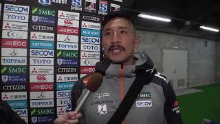 3月16日【スーパーラグビー2019🏉 サンウルブズ vs レッズ】後半に貴重なトライを決めた内田啓介選手に、次戦・そして日本代表への意気込みを語って頂きました!