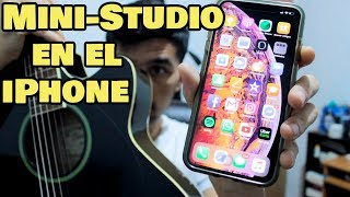 Grabando una Canción SOLO con un iPhone + Tutorial