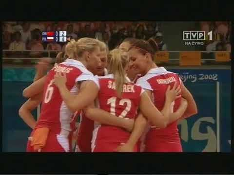 Olympic 2008 volleyball Poland - China Set 1