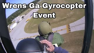 The Wrens Georgia gyroplane airplane fly-in part 2