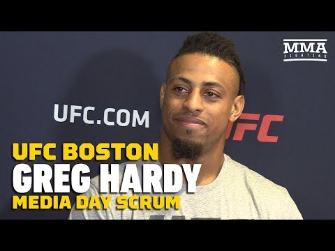 UFC on ESPN 6: Greg Hardy Doesn't Expect Any Praise in His Career Until He Fights for the UFC Title