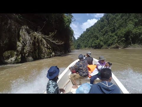Grand Canyon Teunom in Aceh Besar Regency, Aceh Province - Indonesia
