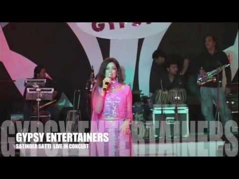 SATINDER SATTI Performing Live at Wedding Show with GYPSY ENTERTAINERS