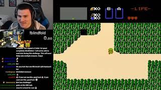 The Legend of Zelda (NES) Blindfolded Challenge - Complete! - Part 1/2
