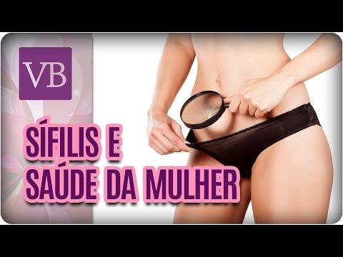 Sífilis e Saúde da Mulher - Você Bonita (18/05/17)