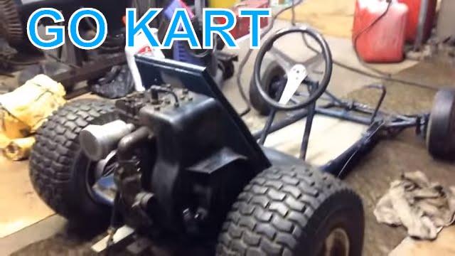 $50 Go Kart build part6 Jack shaft location confirmed