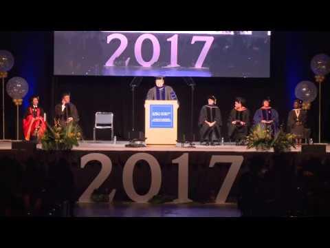 College of Engineering Spring 2017 Graduation - pt 2