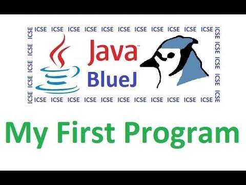 #1-creating-first-program-in-java---computer-appplications---java-class-10---icse---bluej
