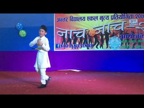 Ma hu nepali babu made in NEPAL - dance by sewanta shrestha
