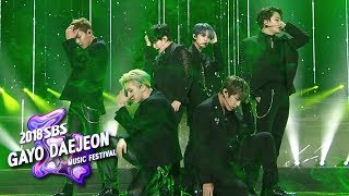 MONSTA X SEVENTEEN Wanna One Again And Again 2018 SBS Gayo Daejeon Music Festival