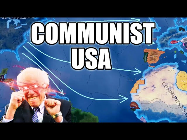Communist USA conquers everything