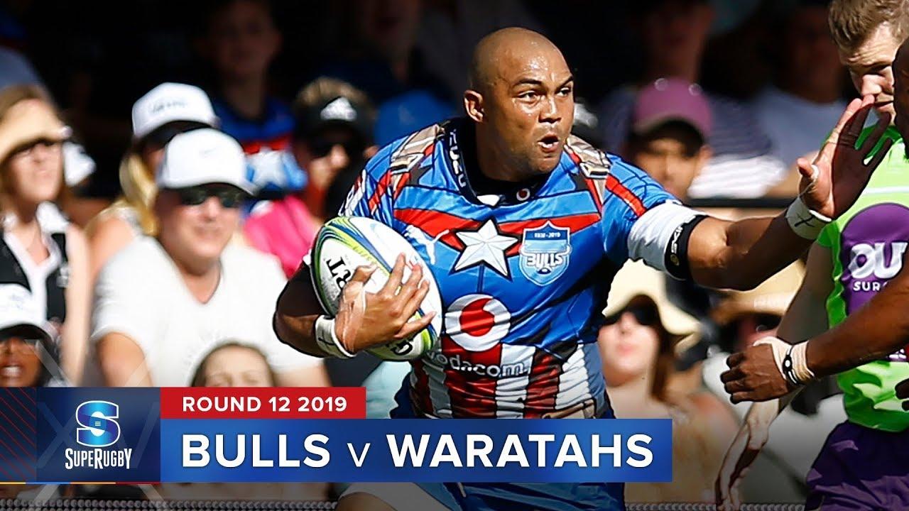 Bulls v Waratahs | Super Rugby 2019 Rd 12 Highlights