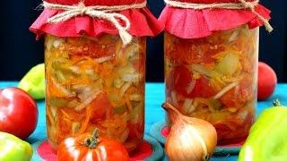 Домашние заготовки  Овощной салат на зиму