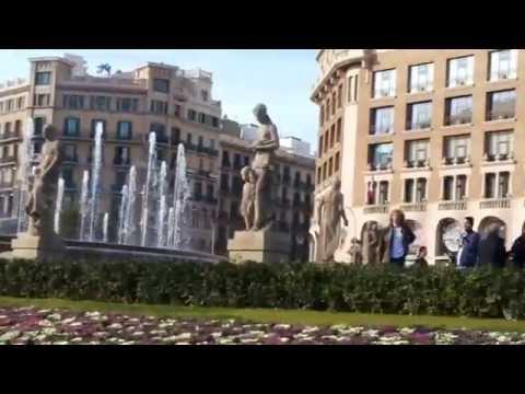 Catalonia square,  Barcelona