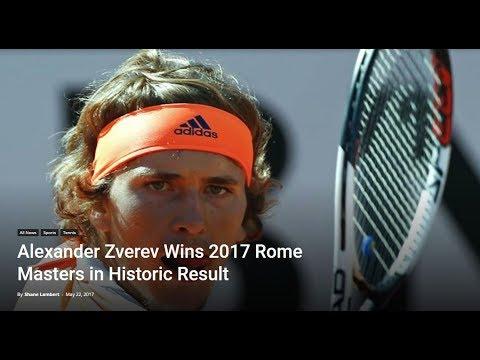 Alexander Zverev, Rule Changes, Tennis