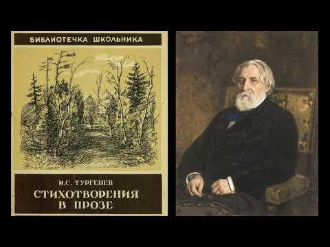 И.С.Тургенев. Стихотворения в прозе. Литература. 7 класс.