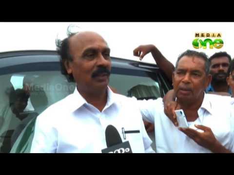 E chandrasekharan visits Kasargod Keezhur Pulimoodu